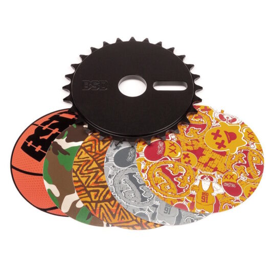 corone bmx bsd STICKERBOMB SPROCKET