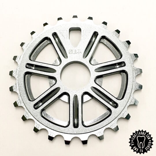 corona bici bmx cult dak sprocket grey