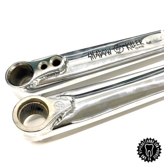 pedaliera bmx shadow killer crank chrome